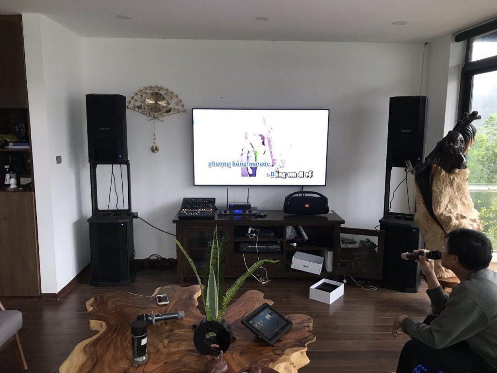 Loa Bose F1 model 812 dành cho hát karaoke và biểu diễn sân khấu