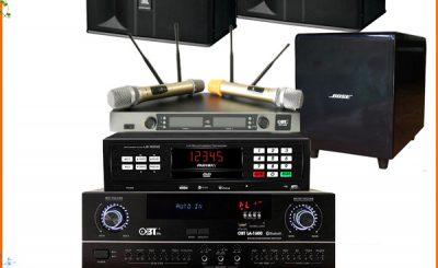 Các đại lý bán dàn karaoke giá 15,8 triệu đồng