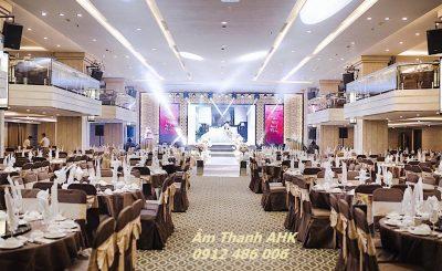 Âm thanh ánh sáng nhà hàng tiệc cưới