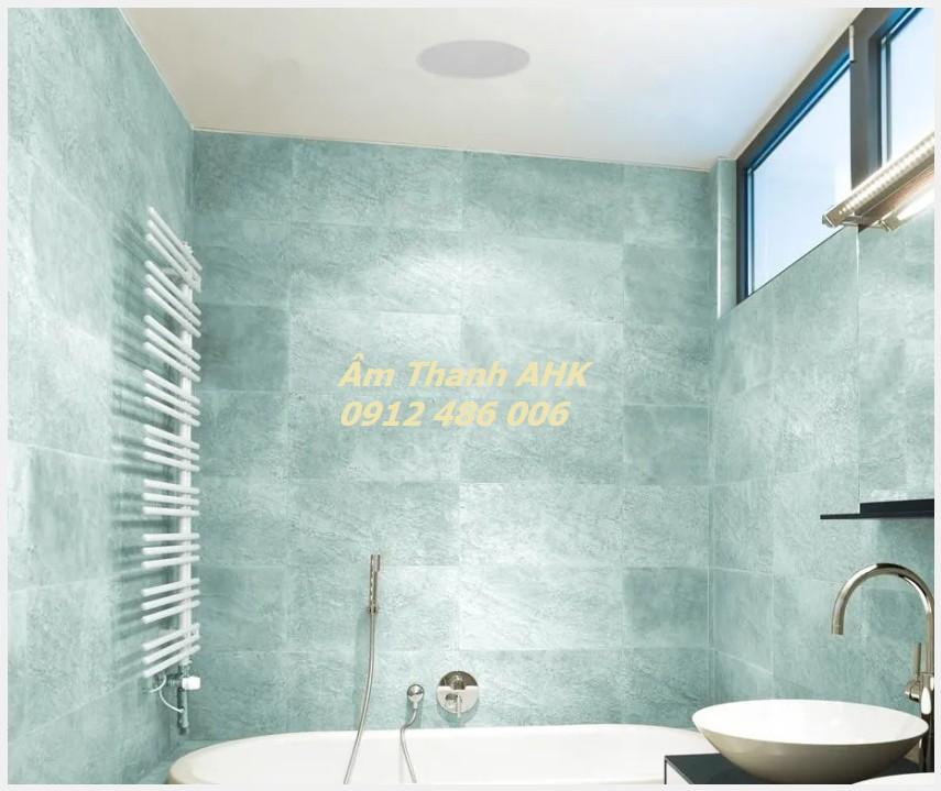 Loa âm trần trong phòng tắm cần chống hơi nước