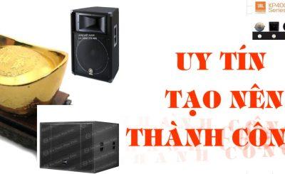 Công ty âm thanh uy tín cửa hàng