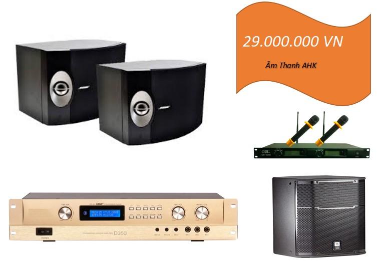 Dàn karaoke loa Bose 301 series V cho phòng 20m2