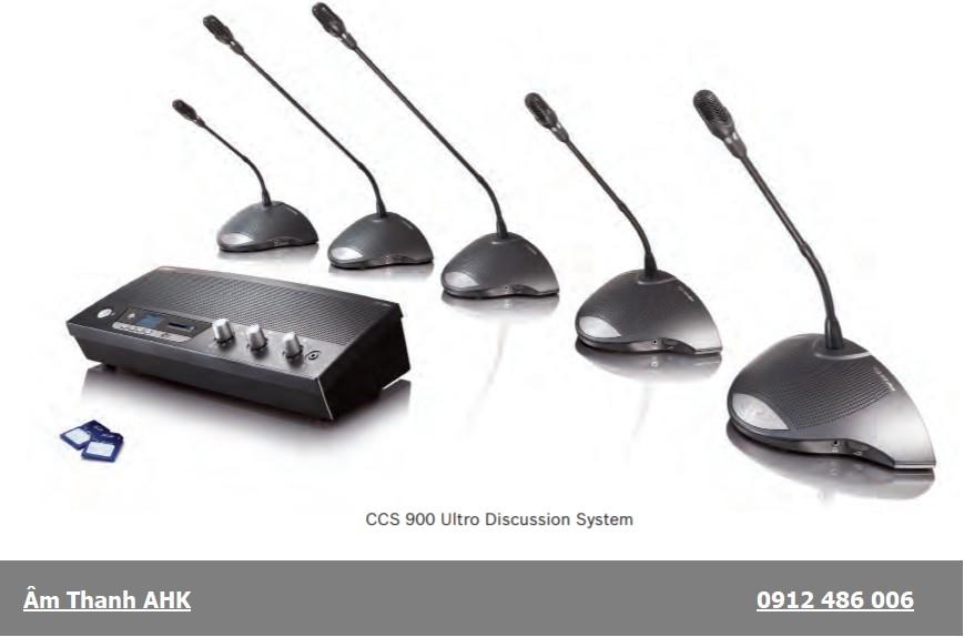 Hệ thống hội thảo Bosch CCS-900
