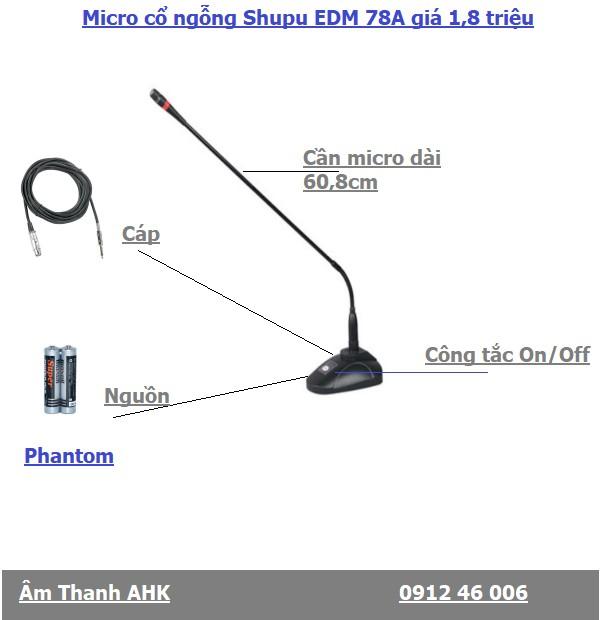 Micro Shupu EDM78A