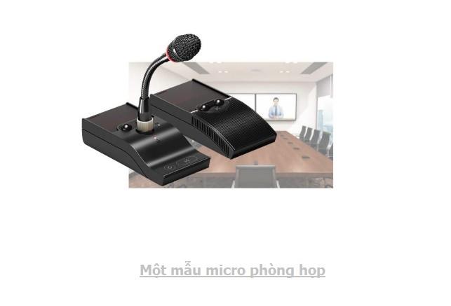 Micro cho phòng hội thảo