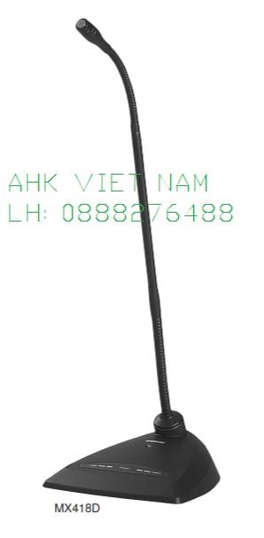 Micro cổ ngỗng Shure MX418DC
