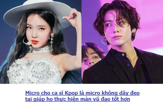Micro deo tai ca si Kpop