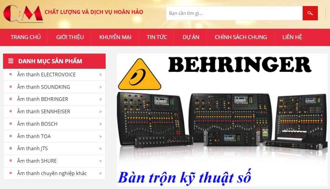Quang Minh nhap khau thiet bi am thanh Soundking