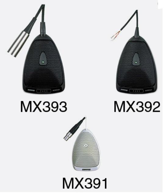 Micro đầu rùa Shure MX393