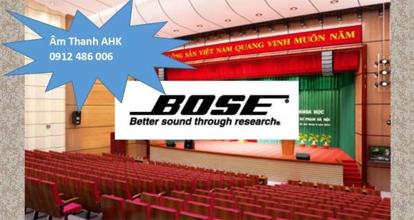 Loa Bose hội trường