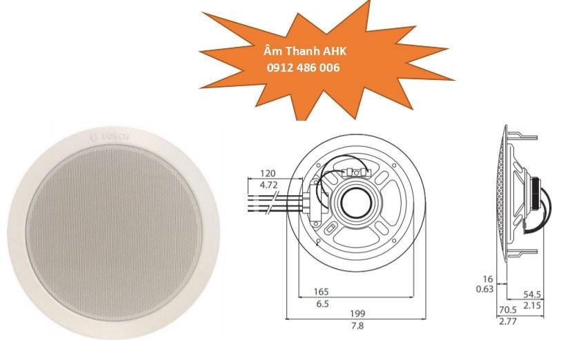 Loa Bosch LHM0606-10