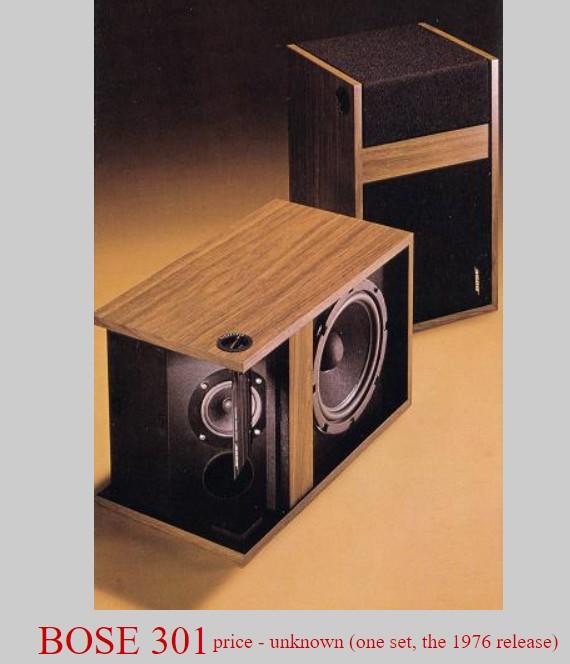 Loa Bose 301 năm 1976