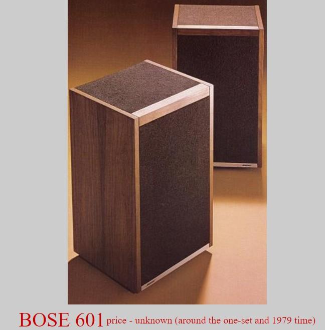Loa Bose 601 nam 1979