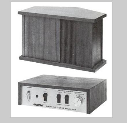 Loa Bose 901 nam 1973