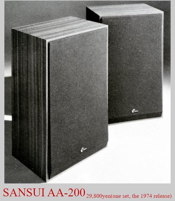 Loa Sansui AA-200 đời 1974