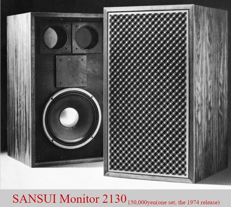Loa Sansui Monitor 2130