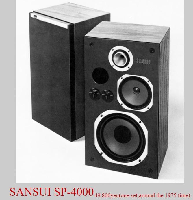Loa Sansui SP-4000 doi 1975