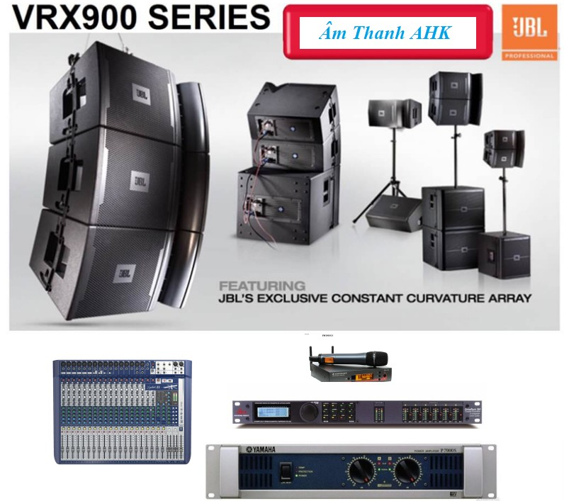 Dàn loa array JBL VRX900