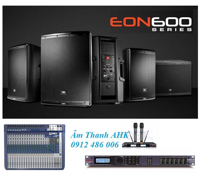 Dàn loa liền công suất Eon600