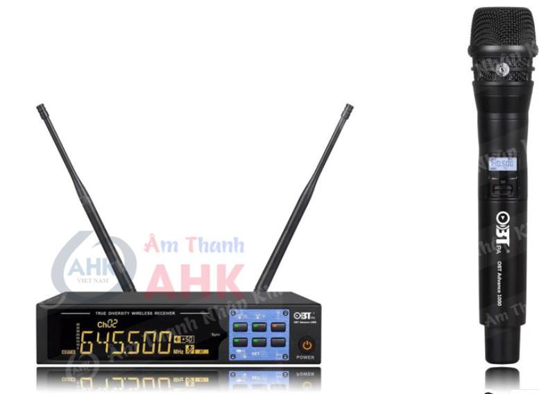 Micro không dây OBT Advance 1000