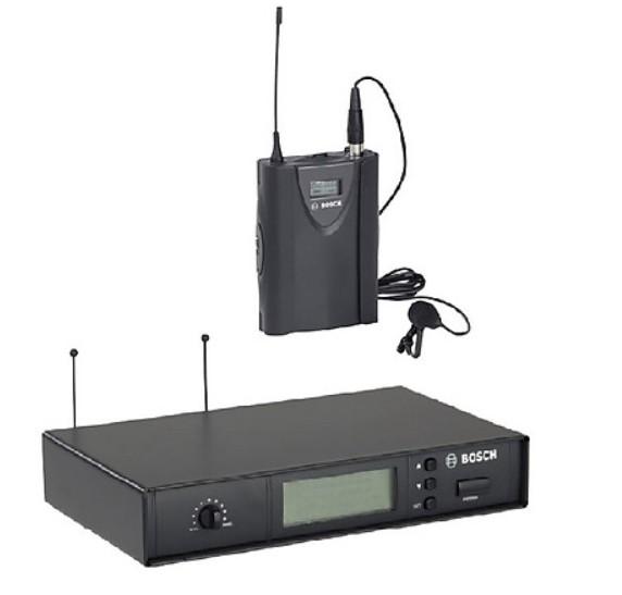Micro cài áo Bosch MW1-LTX-F5 và đầu thu MW1-RX-F5