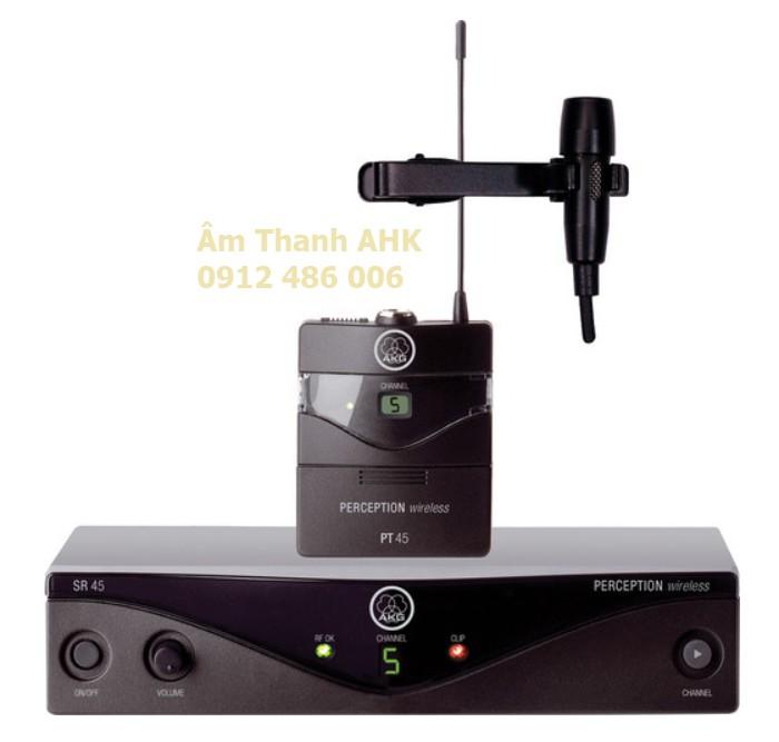 Micro không dây cài áo AKG Perception 45 Presenter set