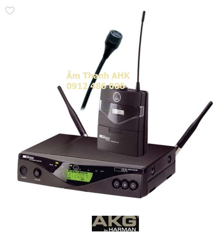 Micro không dây cài áo AKG WMS 450 presenter set