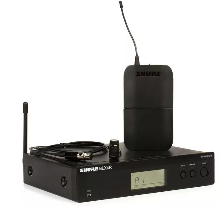 Micro không dây cài áo Shure BLX14RA-W85