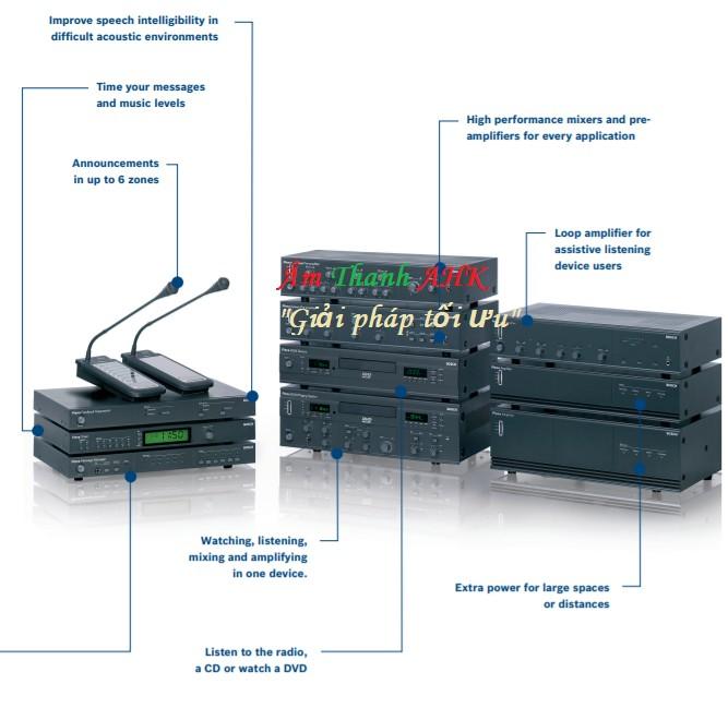Hệ thống Bosch Plena Solution