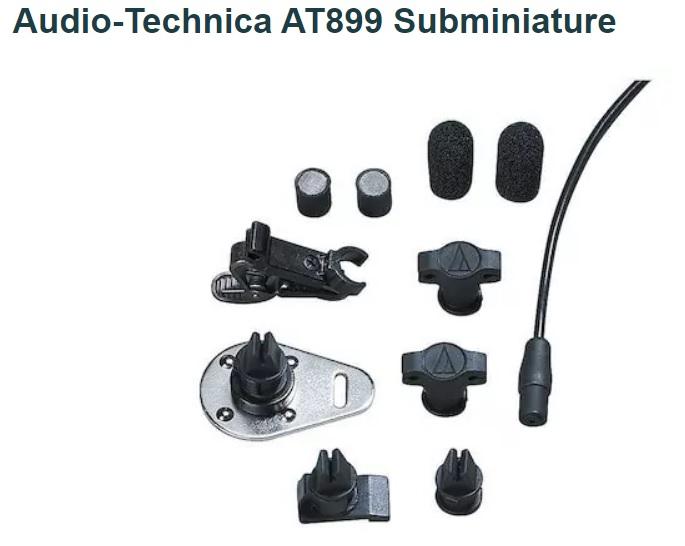 Audio-Technica AT899 Subminiature