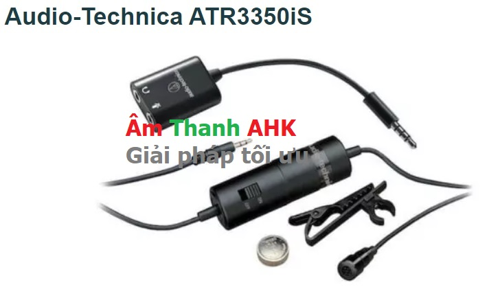 Audio-Technica ATR3350iS