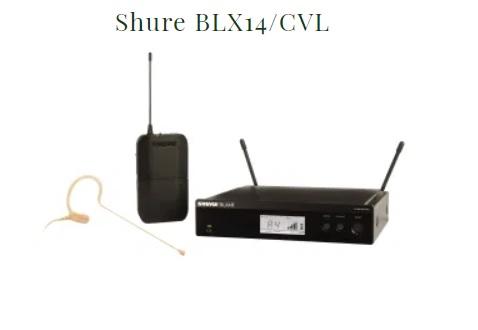 Shure BLX14-CVL