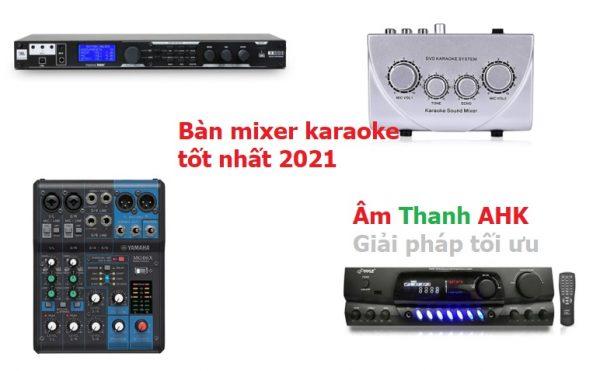 Bàn mixer karaoke