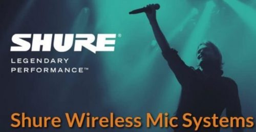 Micro không dây Shure cao cấp