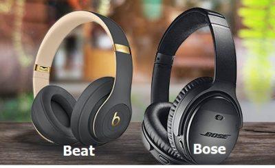 Nên chọn tai nghe Bose hay tai nghe Beat
