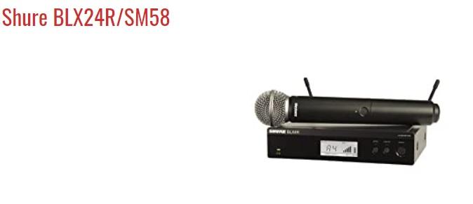 Shure BLX24R-SM58