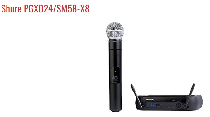 Shure PGXD24-SM58-X8