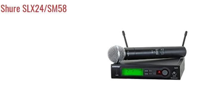 Shure SLX24-SM58